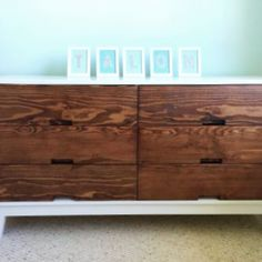 Free DIY Furniture Plans: How to Build a Steppe 6 Drawer Dresser | The Design Confidential