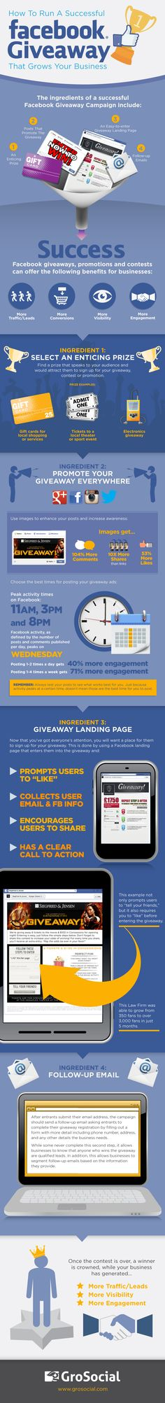 FaceBook Promotion: How to Run a Successful Facebook Contest  #facebookmarketing