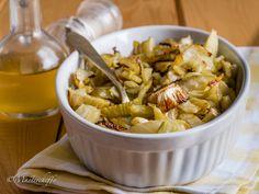 Hai mai pensato di preparare l'insalata di finocchi al forno anziché cruda? E' squisita e prepararla è un gioco da ragazzi! Ecco la ricetta