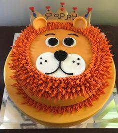 Lion King Cake - Made by Leslie Jones Robinson - Baby geburtstag - first birthday cake-Erster Geburtstagskuchen Lion Birthday Party, Lion King Birthday, First Birthday Cakes, 1st Boy Birthday, Animal Birthday, Birthday Parties, Lion Cakes, Lion King Cakes, King Cake Baby