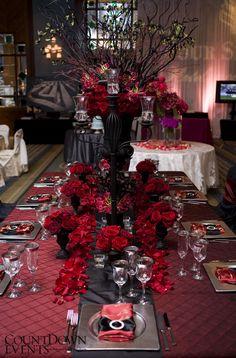 CountDown Events - Signature Tables at the Crème de la Crème Grand Wedding Showcase | COUNTDOWN EVENTS Blog