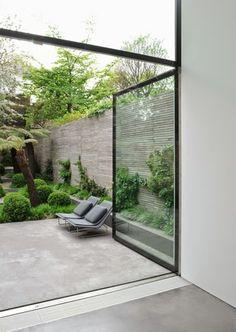 Terraza industrial hormigón pulido / 7 suelos para 7 terrazas de 7 estilos #hogarhabitissimo