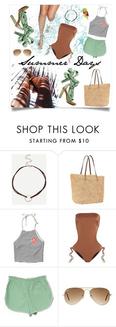 """""""Missing Summer Days"""" by tiffanie22 ❤ liked on Polyvore featuring beauty, Masquerade, Aime, Athleta, Hollister Co., Melissa Odabash, Kenzo, Ray-Ban, Summer and contest"""
