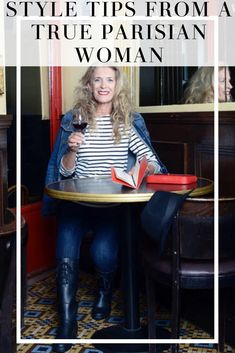 Here's everything you need to know about Parisian style- straight from the source. This interview with a true Parisian woman gives us all the authentic style tips! #frenchfashion #frenchstyle #parisianstyle