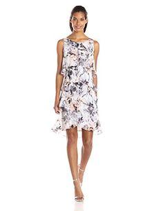 S.L. Fashions Women's Floral Printed Tiered Dress, Ivy/Multi, 10 S.L. Fashions http://www.amazon.com/dp/B00T7N32JW/ref=cm_sw_r_pi_dp_PGdevb15D1TWH
