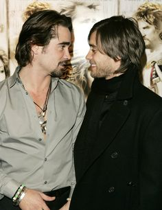 JARED LETO and Colin Farrell PICTURES PHOTOS and IMAGES