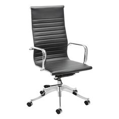 Found it at Wayfair.ca - Carter Leather Office Chair with Arms