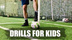 Soccer Drills For Kids - / / / U6 Soccer Drills, Soccer Drills For Kids, Soccer Workouts, Soccer Skills, Soccer Tips, Parent Coaching, Soccer Training, Soccer Players, Training Tips