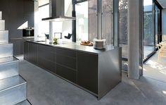 Bulthaup kitchen dark grey
