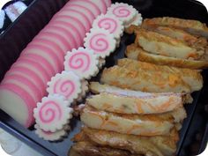 Kamaboko - fish cake (New Year Food)