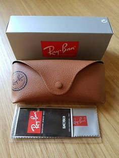 Fits Nearly all types of Ray Bans. Ray Ban Sunglasses, Sunglasses Case, Card Case, Fashion Forward, Ray Bans, Road Trip, Wallet, Box, Cancer