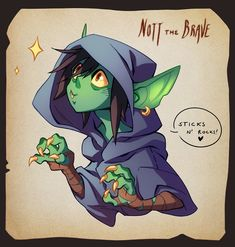Nott the Brave. The Mighty Nein. Critical Role.