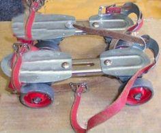 Des patins à roulettes…je n'en ai jamais possédé, mais j'ai testé ceux des copains !