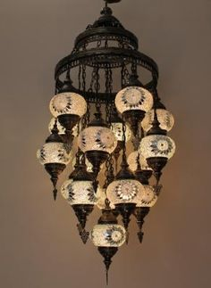 Hanging lamps, an ideal alternative to standard light fixtures can really deliver on style and function when done right. That said, here's some information you should know before switching to pendant lights. In order to find the right size of a hanging. Turkish Lamps, Turkish Decor, Bright Homes, Colorful Curtains, Bedside Lamp, Mosaic Glass, Pendant Lamp, Decoration, Night Light