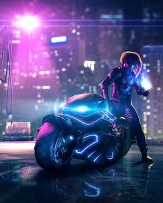 A genre of science fiction and a lawless subculture in an oppressive society dominated by computer technology and big corporations. Cyberpunk 2077, Cyberpunk Girl, Arte Cyberpunk, Cyberpunk Character, 3d Character, Character Concept, Space Opera, Neon Noir, Cyberpunk Aesthetic