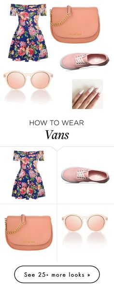 """""""Untitled #1"""" by seylin-scarlett on Polyvore featuring New Look, Michael Kors and Vans"""