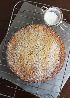 Lemon and Ricotta Cake with almond meal - think I like this one.