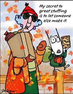 Thanksgiving Humor with Maxine
