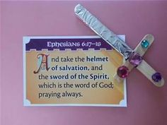 armour of god crafts - Bing Images