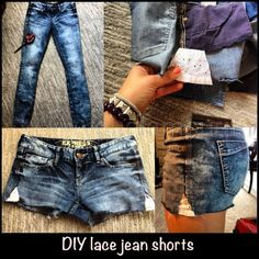 Tutorial: come trasformare un paio di jeans in short fashion
