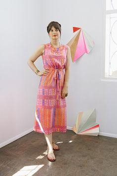 ERMIE Mexico Print Maxi Dress by Aunt Ermie, via Flickr