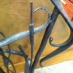 Hand forged Interior Railing Steel Oak Hill Iron | IRON.OLOGY