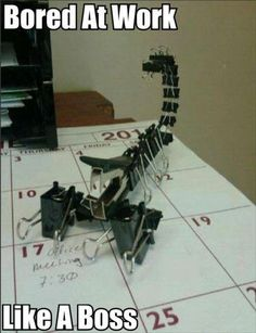 Have You Ever Been So Bored At Work, That You Did This? – 25 Pics