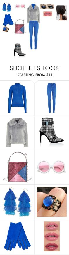"""chic outfit"" by helena94-1 on Polyvore featuring Free People, Topshop, Off-White, ZeroUV, Portolano, ASOS and polyvorefashion"