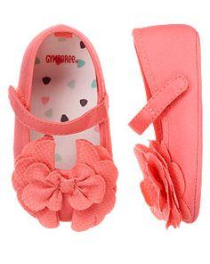 $14.79 Bow Crib Shoe Туфельки-пинеточки из хлопка. Размеры 1(0-3мес.) 2(3-6мес.) 3-4(6-12мес.)