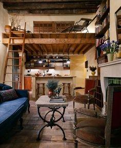 'rustic French maisonette'