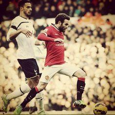 Juan Mata he's the runner.