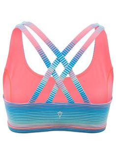 Pick your colour to rock out to your own beat | Reversible Vitality Sports Bra I have this!