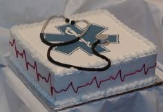 Once i get my license and a job i want this EMT Cake <3 @Stephanie Close Close Peters