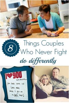 8 Things Couples Who Never Fight Do Differently #howdoesshe #relationships #romance