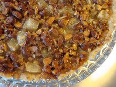 Æbletærte med mandel-toscatopping