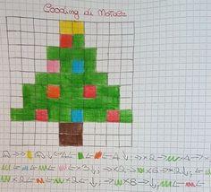 codingalbero Reggio, Pixel Art Templates, Beginning Of Year, Christmas Templates, Problem Solving, Cross Stitch Patterns, Teaching, Activities, Education