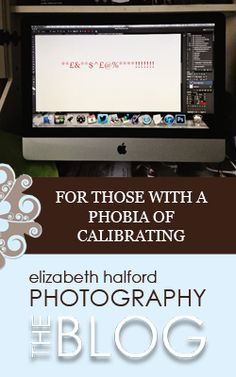 Want to know what what and why of monitor calibration? http://www.elizabethhalford.com/editing/pse/for-those-with-a-phobia-of-calibrating/
