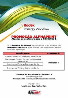Não perca os últimos dias da promoção Kodak #Prinergy. Até 30 de junho:
