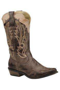 Cimmaron Choco Western Boots