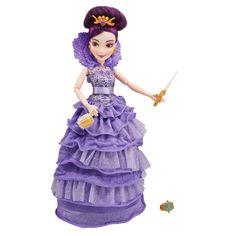 Amazon.com: Disney Descendants Coronation Mal Isle of the Lost Doll: Toys & Games