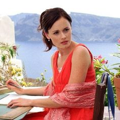Alexis Bledel as Lena Kaligaris from the Sisterhood of the Travelling Pants --my dream life! <3
