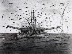 Pencil & Charcoal 24 x 30 (30 x 42 cm framed) £300 - or spread the cost, interest-free, over 10 months with Own Art. Part of the Royal Society of Marine Artists Annual Exhibition 2020 at Mall Galleries 30 September to 10 October #MarineArt #AffordableArt #ArtfortheHome #Seaside #Fishing #FishingBoat #TheSea 30 September, Royal Society, Affordable Art, Fishing Boats, Sailing Ships, Seaside, Galleries, Mall, Britain