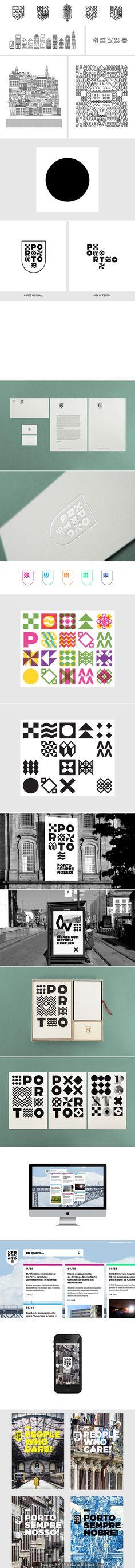 Porto / City Identity and Branding Proposal by Atelier Martino&Jaña.