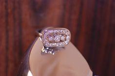 Custom Diamond Ring #diamondring #diamonds #righthandring #bling #bezel