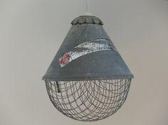 Industrial/Vintage Ceiling Lamp 60/70's by MidCenturyNVintage