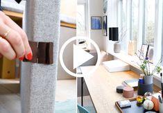 Bolig Magasinets stylist, Julie Løwenstein, guider dig til smuk opbevaring på kontoret. I denne video får du en smuk og funktionel løsning på hvordan du skjuler din printer.
