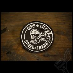 """The Dime City """"Speed Freaks"""" Patch"""