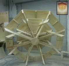 Pallet Octagon Table: step by step