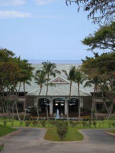 Four Seasons, Manele Bay, Lanai: Entrance