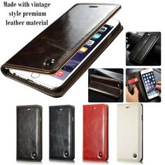 Luxury Leather Case wallet For iPhone 6 and 6 plus - Lusoprime Ltd